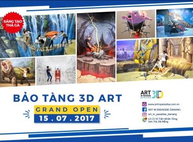 Phòng tranh 3D đầu tiên và duy nhất tại Đà Nẵng - Art in Paradise Danang