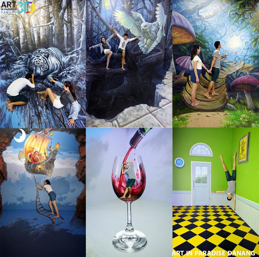 Image result for khám phá Art in Paradise Danang – Phòng tranh 3D Đà Nẵng
