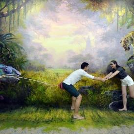 Safari Zone - Bảo tàng tranh 3D Art in Paradise Danang